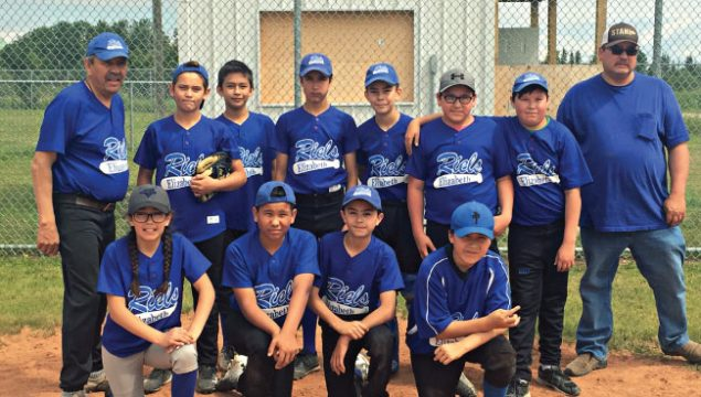 Baseball team in Bonnyville, AB