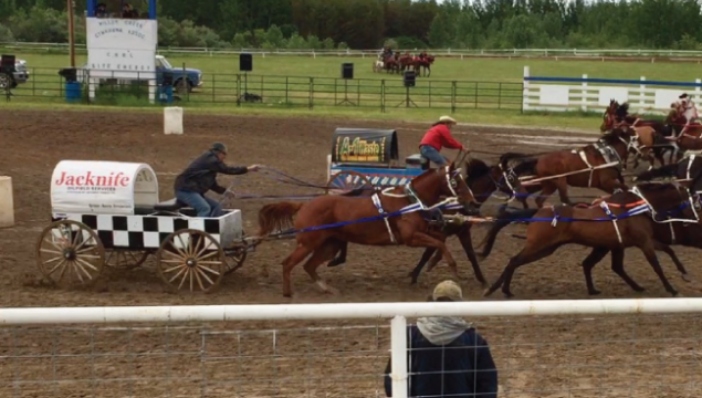 Bonnyville Jacknife Oilfield chuckwagon